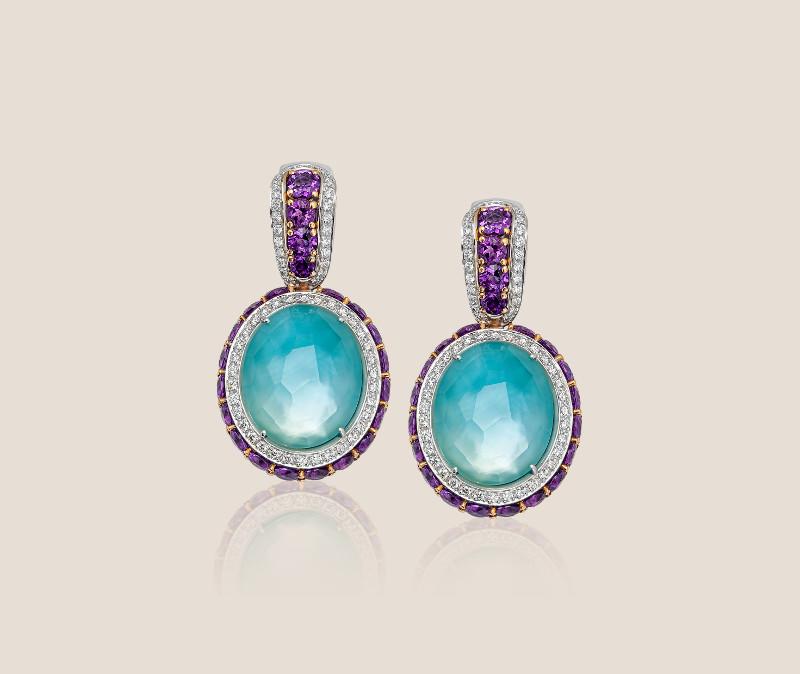 Manuel Vaccari Italian earrings 244